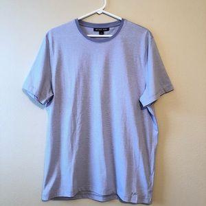 Michael Kors Lavander Stripe T-Shirt—L